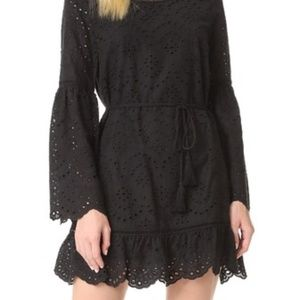 Cupcakes and Cashmere Ruben Dress in Black